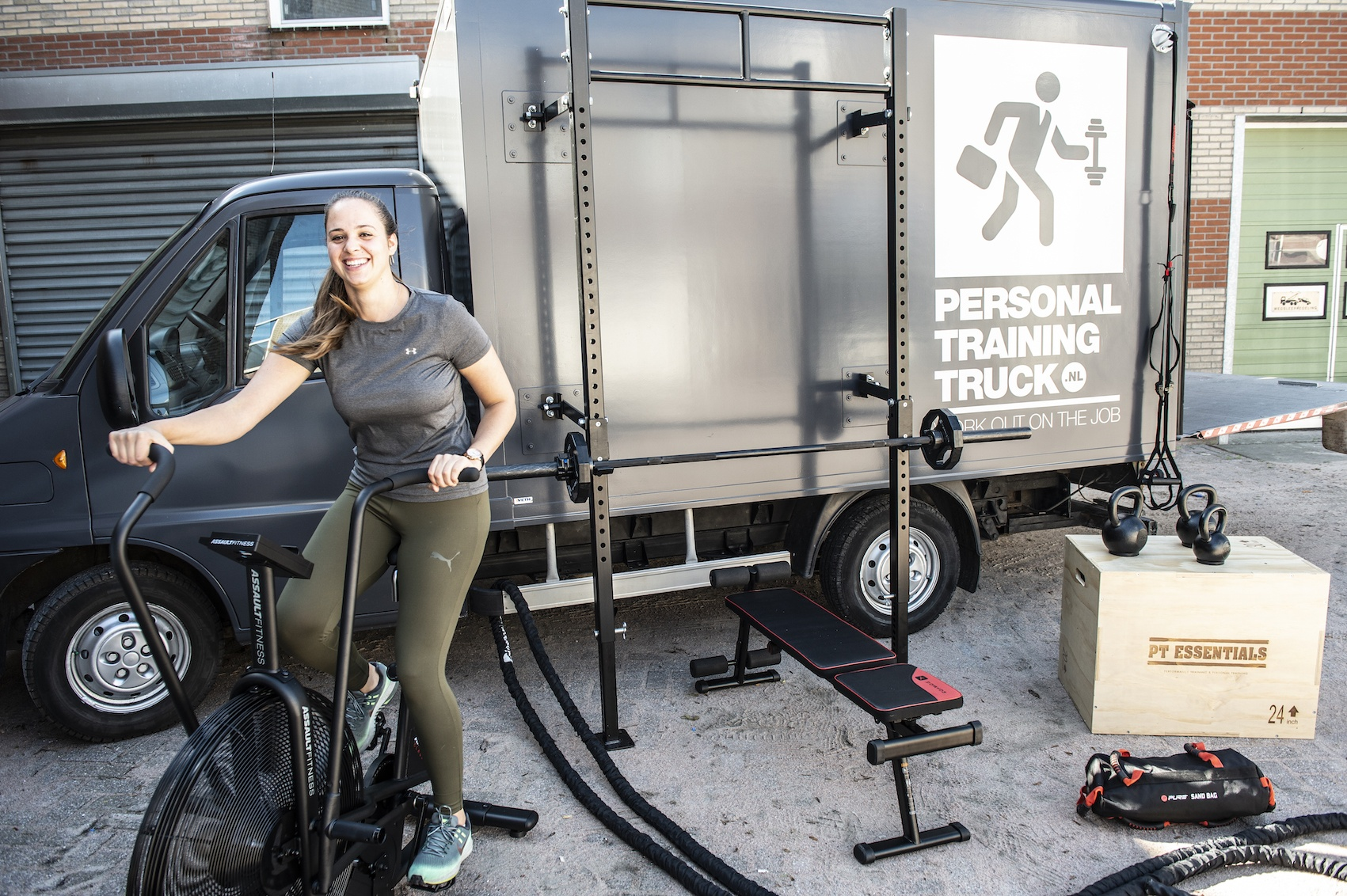 Personal Training Truck